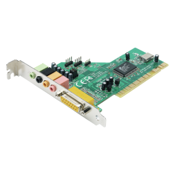 Scheda Audio interna PCI Trust SC-5100 5.1 Surround