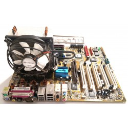 MainBoard ASUS A8V Deluxe with CPU fan cooler and 2 GB RAM DDR400