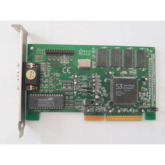 Scheda Video S3 Trio 3D2X+ con 8MB Ram AGP