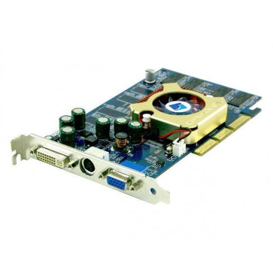 Scheda Video SVGA Albatron GeForce FX 5500 DirectX 9 FX5500EP 128MB 64-Bit DDR AGP 4X/8X Video Card