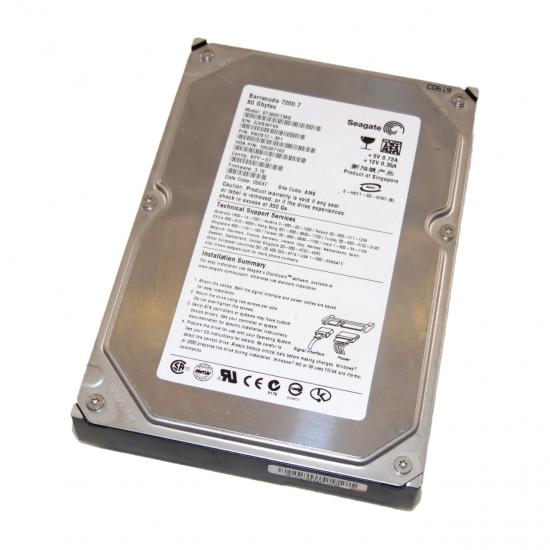 Hard Disk interno Seagate Barracuda da 80GB SATA ST380013AS