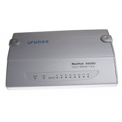 Switch Ethernet Unex 8 porte 10/100 Mbps