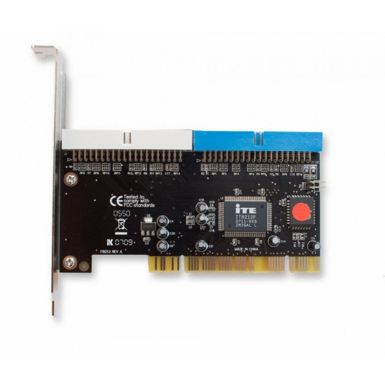 Controller IDE Parallel ATA133 per slot PCI IT8212 REV A