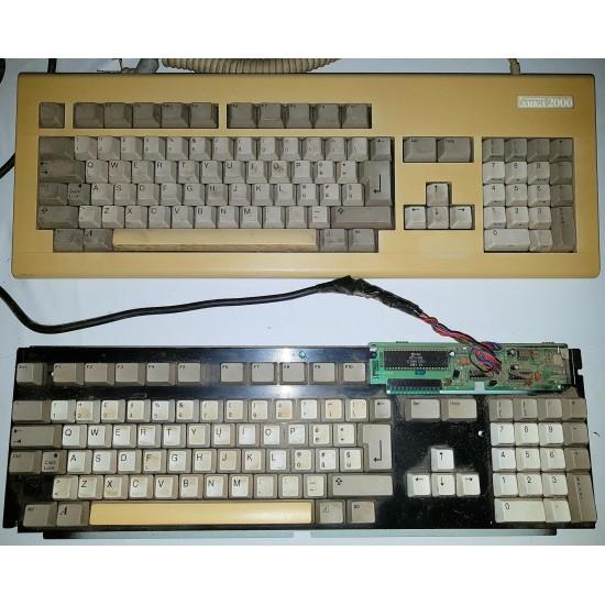 Tastiere Amiga 500 & Amiga 2000 darevisionare o per recupero parti
