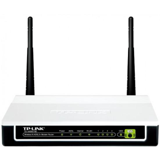 Modem Router WIFI ADSL2+ N300 TP-Link TD-8961ND V1