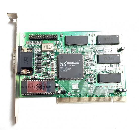 Scheda Grafica PCI S3 Trio 64 V2 DX con 2 MB di RAM