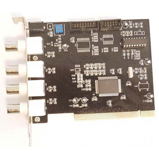 4-channel CCTV video capture PCI card UCC4 Ver 2.2