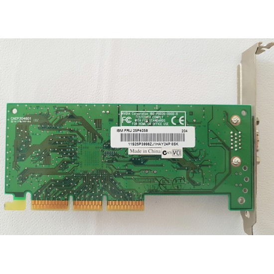Scheda Video NVidia Vanta 16 AGP 16MB