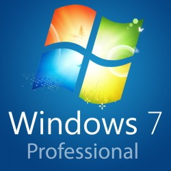 Sistema Operativo Microsoft Windows 7 Professional 32/64 bit Originale