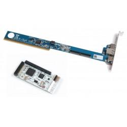 Scheda di rete X-surf 100 con modulo USB RapidRoad per Amiga 2/3/4000