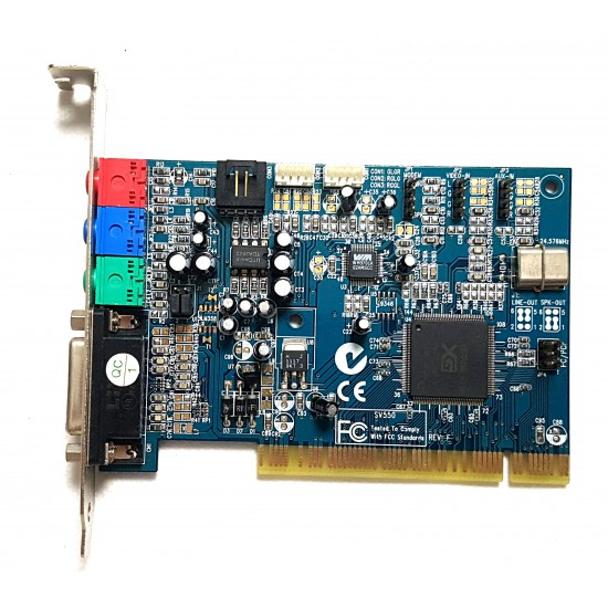 Scheda audio interna PCI SV550 YAMAHA 724